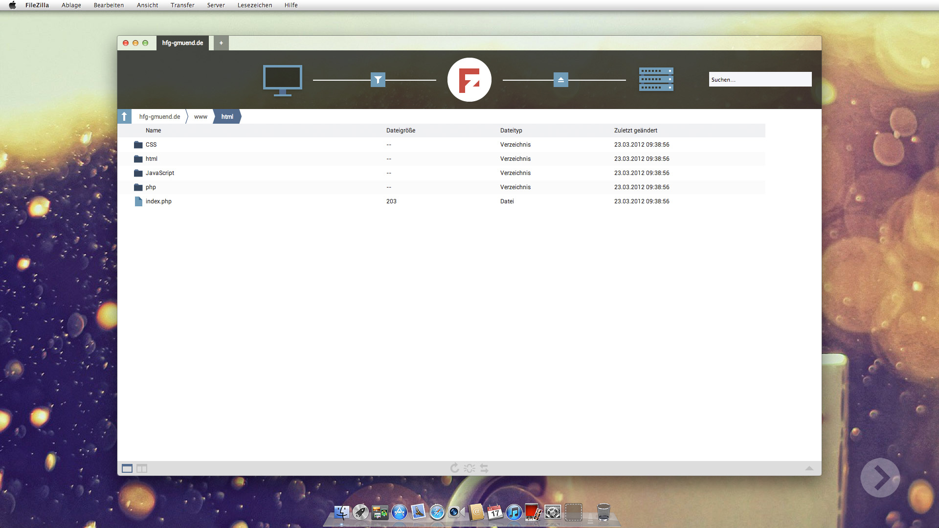 Filezilla Redesign